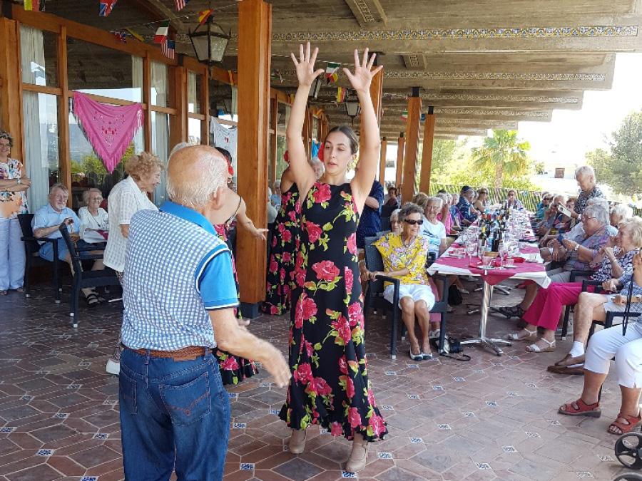 Paella y Flamenco en Ciudad Patricia