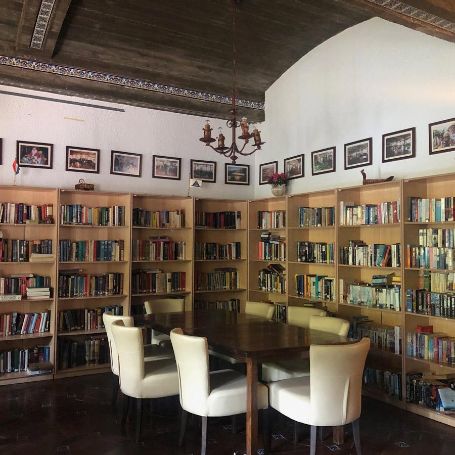 Library at Ciudad Patricia